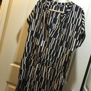 Vince silk dress - EUC